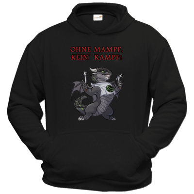 Motiv: Hoodie Classic - Ulisses - Ohne Mampf kein Kampf