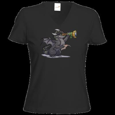 Motiv: T-Shirt Damen V-Neck Classic - Ulisses - Chibi - Teaser