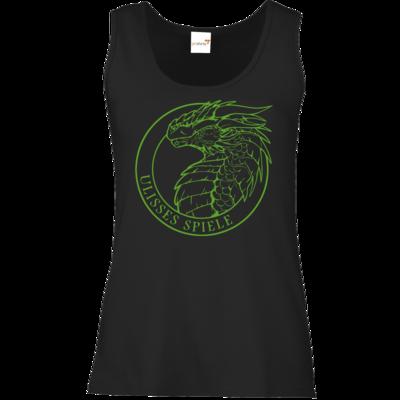 Motiv: Tank Top Damen Classic - Ulisses - Logo Outline