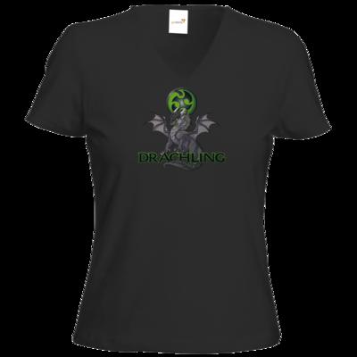 Motiv: T-Shirt Damen V-Neck Classic - Ulisses - Drachling