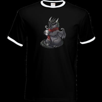 Motiv: T-Shirt Ringer - Ulisses - Chibi - Weihnachtsmotiv 1