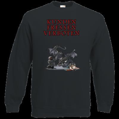 Motiv: Sweatshirt Classic - Ulisses - Kunden fressen verboten