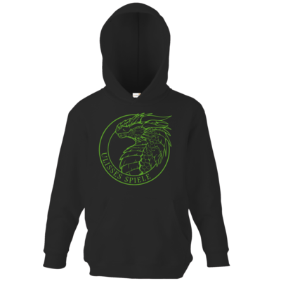 Motiv: Kids Hooded Sweat - Ulisses - Logo Outline