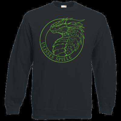 Motiv: Sweatshirt Classic - Ulisses - Logo Outline