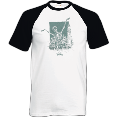 Motiv: TShirt Baseball - HeXXen - Totentanz
