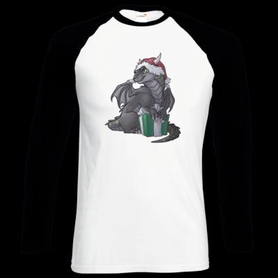 Motiv: Longsleeve Baseball T - Ulisses - Chibi - Weihnachtsmotiv 3
