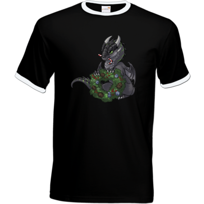 Motiv: T-Shirt Ringer - Ulisses - Chibi - Weihnachtsmotiv 2