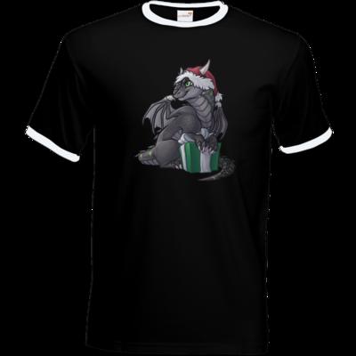Motiv: T-Shirt Ringer - Ulisses - Chibi - Weihnachtsmotiv 3
