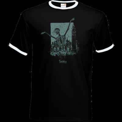 Motiv: T-Shirt Ringer - HeXXen - Totentanz