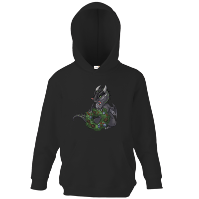 Motiv: Kids Hooded Sweat - Ulisses - Chibi - Weihnachtsmotiv 2