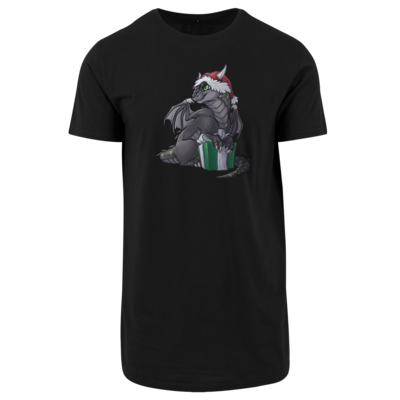 Motiv: Shaped Long Tee - Ulisses - Chibi - Weihnachtsmotiv 3