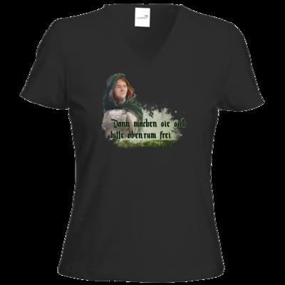 Motiv: T-Shirt Damen V-Neck Classic - HeXXen - Anna