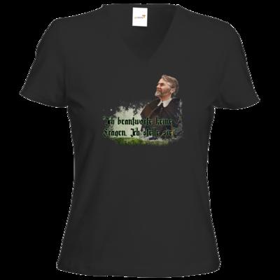 Motiv: T-Shirt Damen V-Neck Classic - HeXXen - Johann