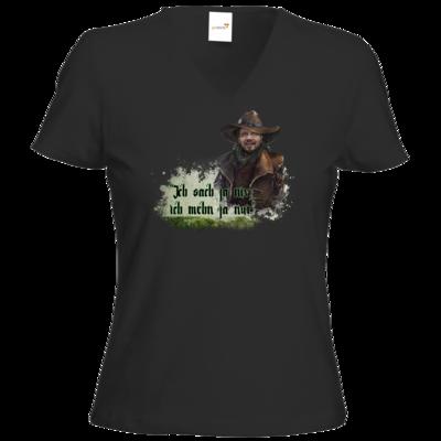 Motiv: T-Shirt Damen V-Neck Classic - HeXXen - Willi