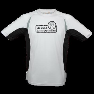 Motiv: Laufshirt Running T - Sprüche - KGIA - Gesehen und genehmigt