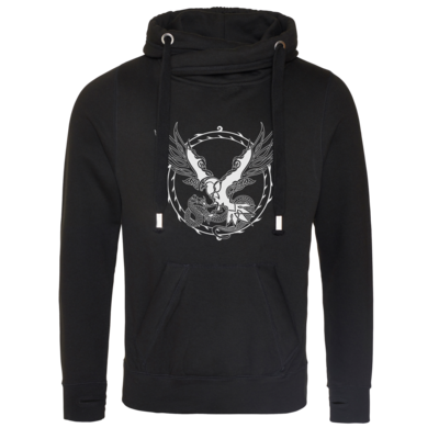 Motiv: Cross Neck Hoodie - Phileasson - Walknoten uni