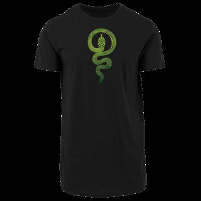 Motiv: Shaped Long Tee - Götter - Hesinde - Symbol