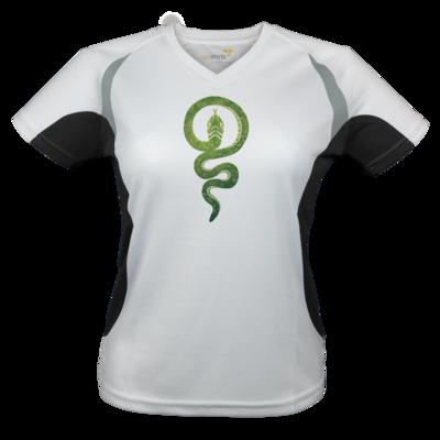 Motiv: Laufshirt Lady Running T - Götter - Hesinde - Symbol