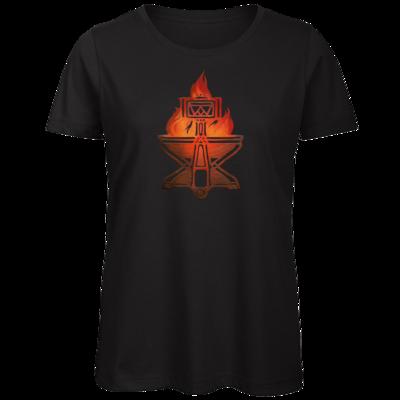 Motiv: Organic Lady T-Shirt - Götter - Ingerimm - Symbol