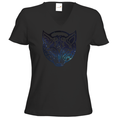 Motiv: T-Shirt Damen V-Neck Classic - Götter - Phex - Symbol