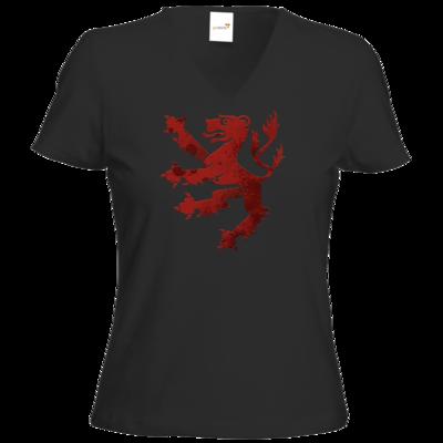 Motiv: T-Shirt Damen V-Neck Classic - Götter - Rondra - Symbol