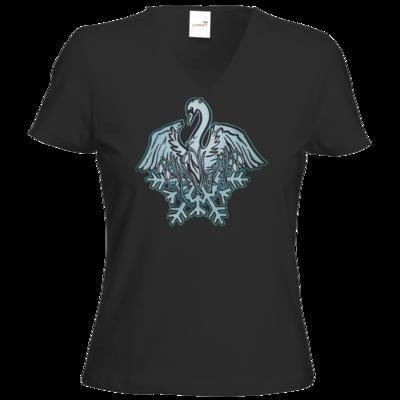 Motiv: T-Shirt Damen V-Neck Classic - Götter - Ifirn - Symbol