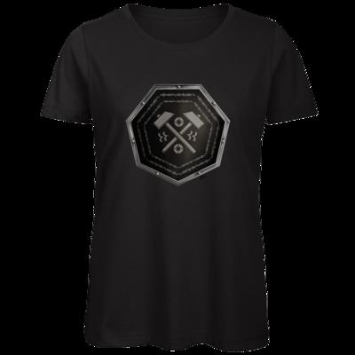 Motiv: Organic Lady T-Shirt - Wappen - Xorlosch