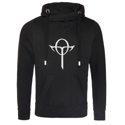 Motiv: Cross Neck Hoodie - Götter Symbol - Rahja