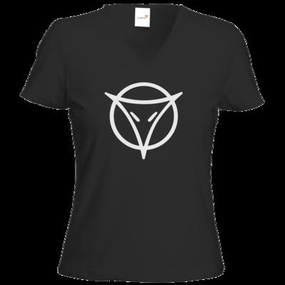 Motiv: T-Shirt Damen V-Neck Classic - Götter Symbol - Phex