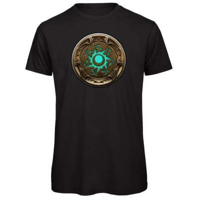 Motiv: Organic T-Shirt - Götter Siegel - Himmelswölfe