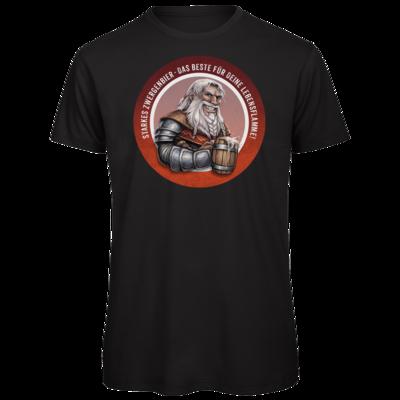 Motiv: Organic T-Shirt - Sprüche - Zwergenbier