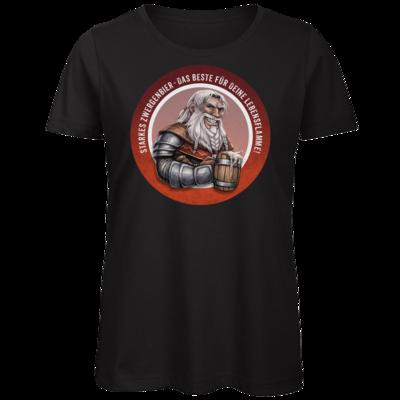 Motiv: Organic Lady T-Shirt - Sprüche - Zwergenbier