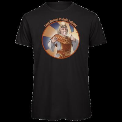 Motiv: Organic T-Shirt - Sprüche - Götter - Praios - Lass Sonne in...