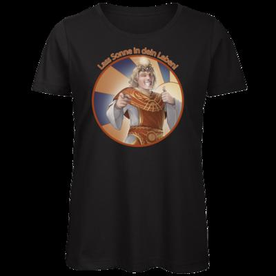 Motiv: Organic Lady T-Shirt - Sprüche - Götter - Praios - Lass Sonne in...
