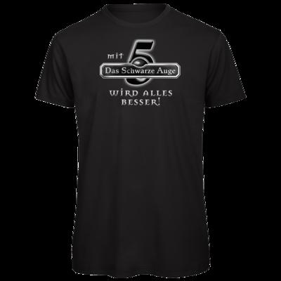Motiv: Organic T-Shirt - Sprüche - Mit DSA5 wird alles besser