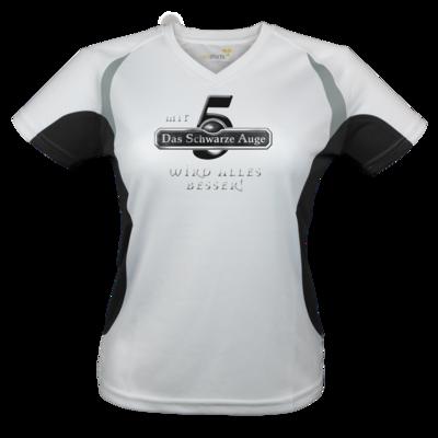 Motiv: Laufshirt Lady Running T - Sprüche - Mit DSA5 wird alles besser