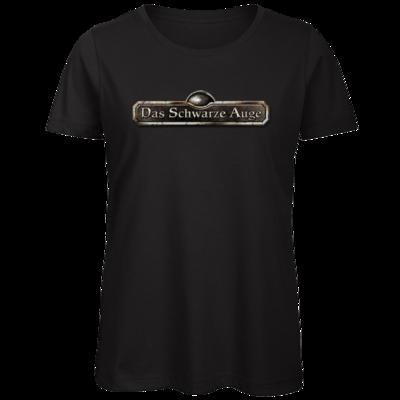 Motiv: Organic Lady T-Shirt - Logos - Schriftzug Das Schwarze Auge