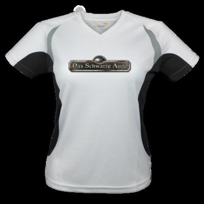Motiv: Laufshirt Lady Running T - Logos - Schriftzug Das Schwarze Auge