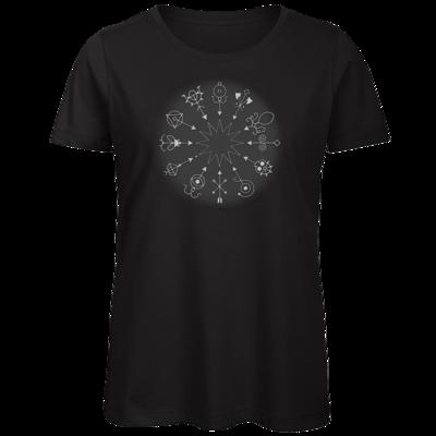 Motiv: Organic Lady T-Shirt - Götter und Dämonen - Dämonenkreis