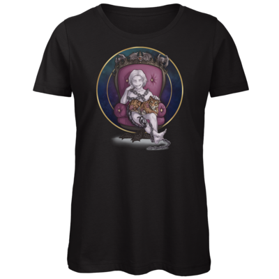 Motiv: Organic Lady T-Shirt - Götter und Dämonen - Namenloser - Chibi