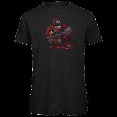 Motiv: Organic T-Shirt - Götter - Kor - Chibi