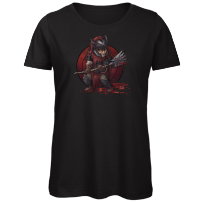Motiv: Organic Lady T-Shirt - Götter - Kor - Chibi