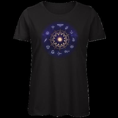 Motiv: Organic Lady T-Shirt - Götter - Zwölfgötterkreis