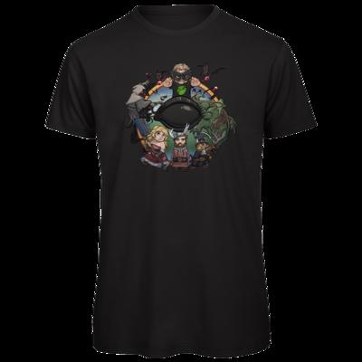 Motiv: Organic T-Shirt - Let's Plays - Das Buch Der Abenteuer - Chibi