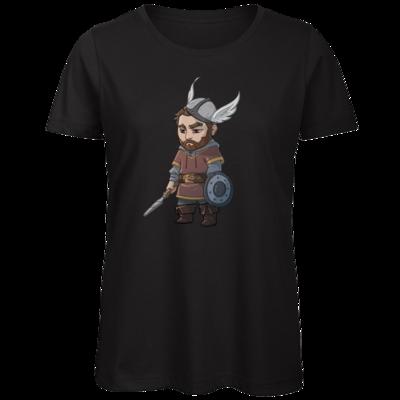 Motiv: Organic Lady T-Shirt - Let's Plays - Nubor - Chibi
