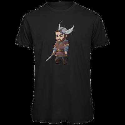 Motiv: Organic T-Shirt - Let's Plays - Nubor der Schildlose - Chibi