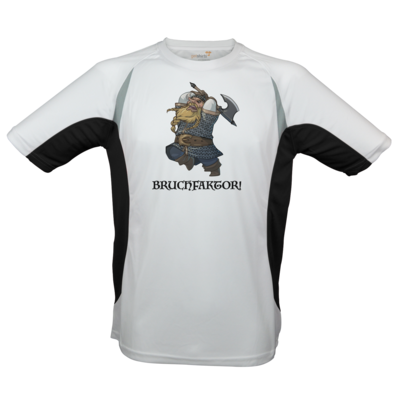 Motiv: Laufshirt Running T - Let's Plays - Bokklawash Bruchfaktor - Chibi