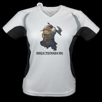 Motiv: Laufshirt Lady Running T - Let's Plays - Bokklawash Bruchfaktor - Chibi