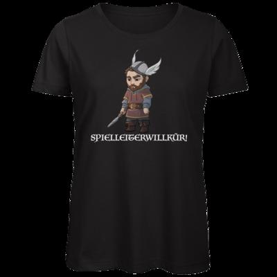 Motiv: Organic Lady T-Shirt - Let's Plays - Nubor Spielleiterwillkür - Chibi