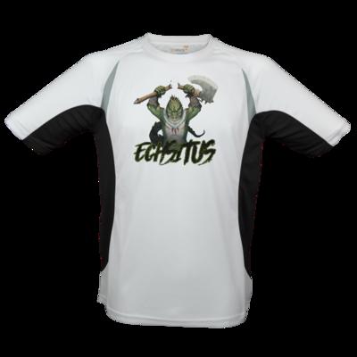 Motiv: Laufshirt Running T - Let's Plays - Echsitus